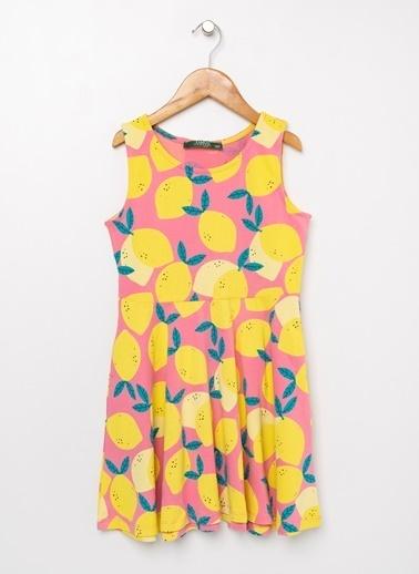 Limon Company Limon Koyu Pembe Elbise Pembe